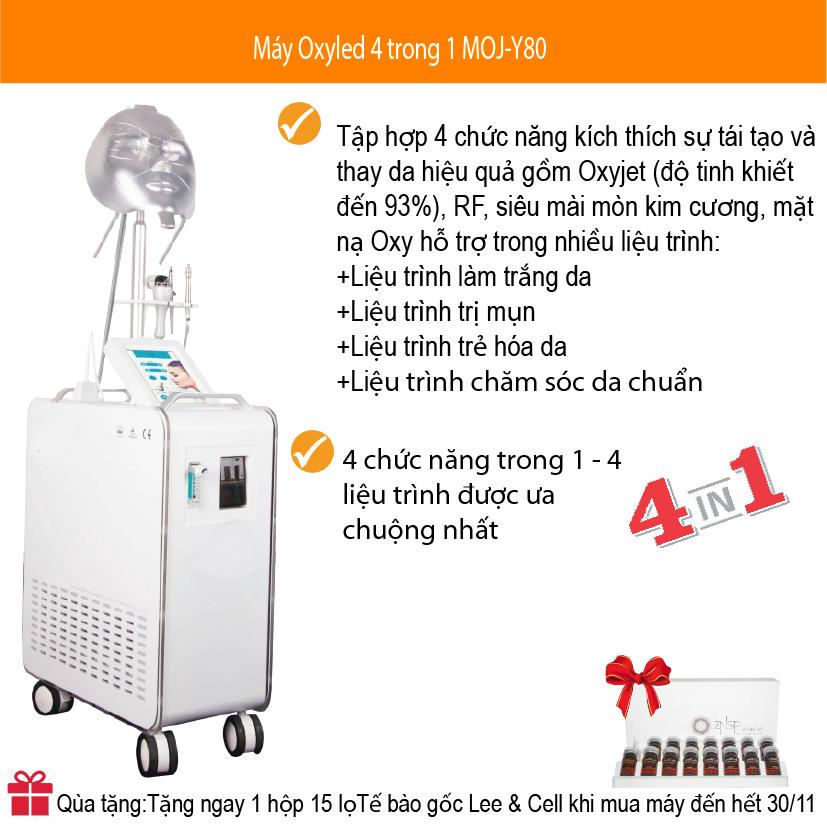 Máy Oxy LED 4 trong 1 MOJ-Y80